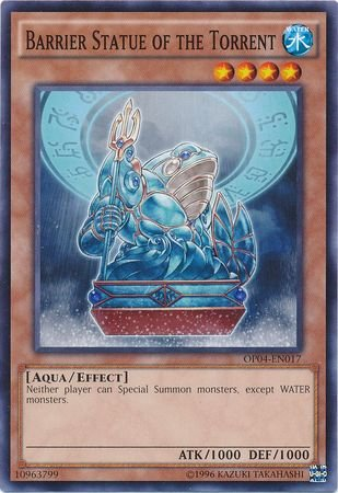 Barrier Statue of the Torrent - OP04-EN017 - Common - Unlimited Edition - OTS Tournament Pack 4