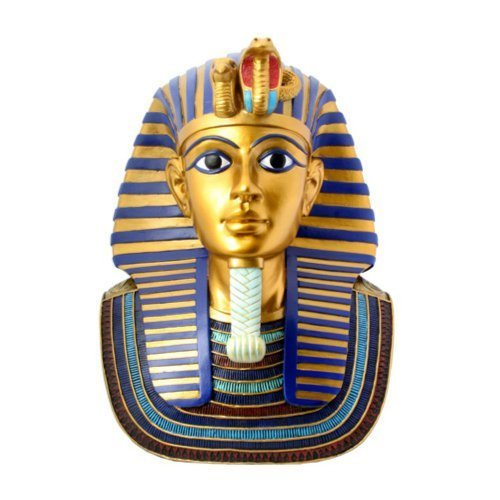 (Egyptian Gold Mask Of King Tut - Collectible Figurine Statue)