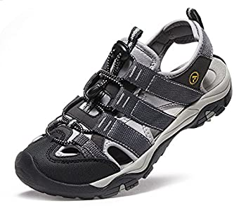 Atika At-w107-kgy_women 8 B(f) Women's Sports Sandals Trail Outdoor Water Shoes 3layer Toecap W107 4