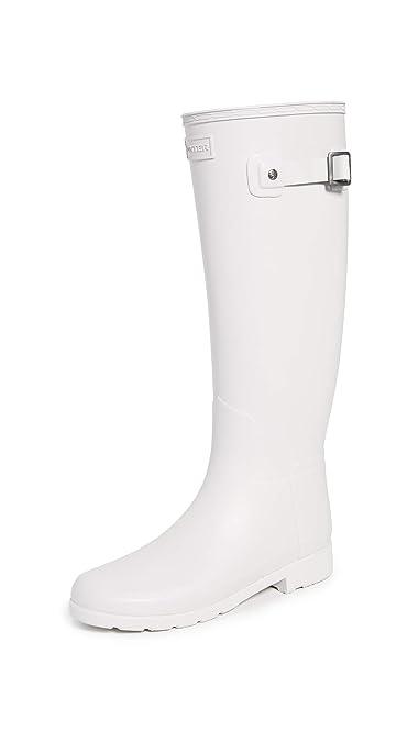 69b8d7666d8 Amazon.com | Hunters Boots Women's Refined Tall Matte Boots | Knee-High