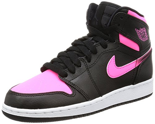 Nike Jordan Kids Air Jordan 1 Retro High Gg Black/Black/H...