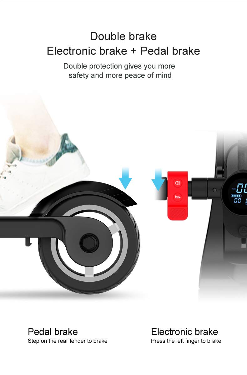 high speed electric scooter portable folding electric scooter with bluetooth speaker charging. Black Bedroom Furniture Sets. Home Design Ideas