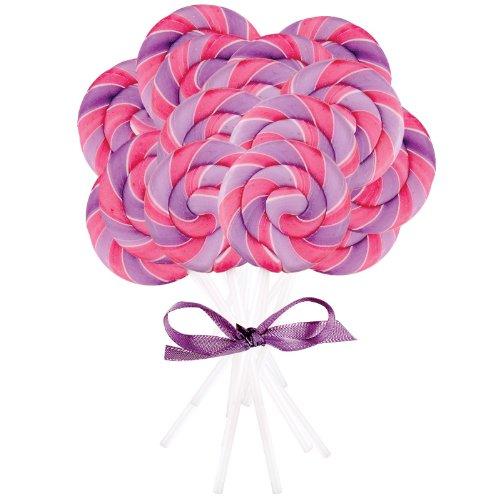 Pink and Purple Swirl Lollipops (32)