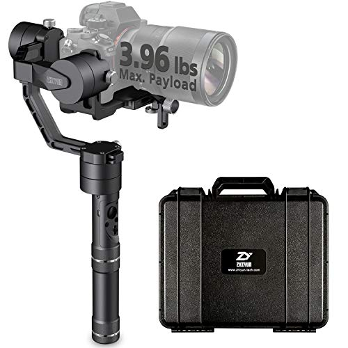 Zhiyun [Official] Crane V2 Handheld 3-Axis Gimbal Stabilizer for DSLR & Mirrorless Cameras ()