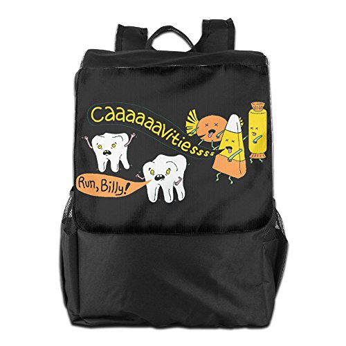 Benpo Halloween Dentist Jokes Outdoor Backpack Lightweight Fashion School Bag Casual Large Shoulder Book Bags One (Dentist Halloween Jokes)