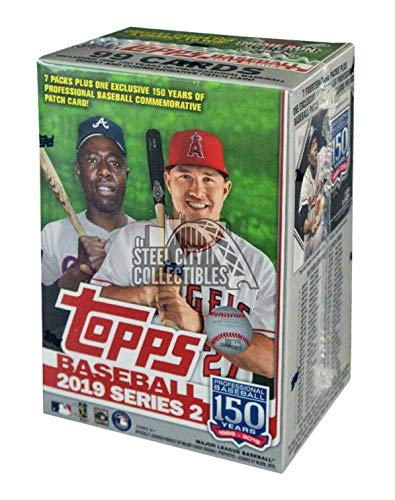 Topps 2019 Series 2 MLB Baseball Relic Box - Retail