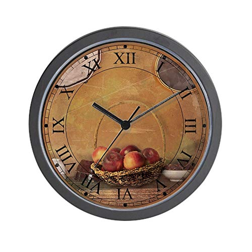 YiiHaanBuy Apples - Unique Decorative 10in Wall Clock.