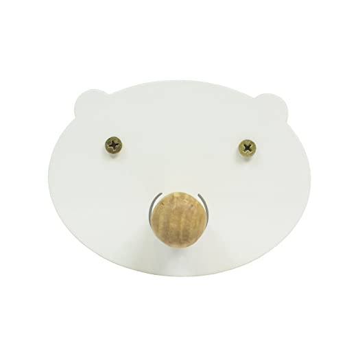 Perchero de Pared Pig - Perchero Infantil Cerdito (Blanco ...