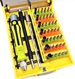 Pack of 50 Sourcingbay 45 in 1 Magnetic Screwdriver Bits Tool Box Set(SCB-8913)