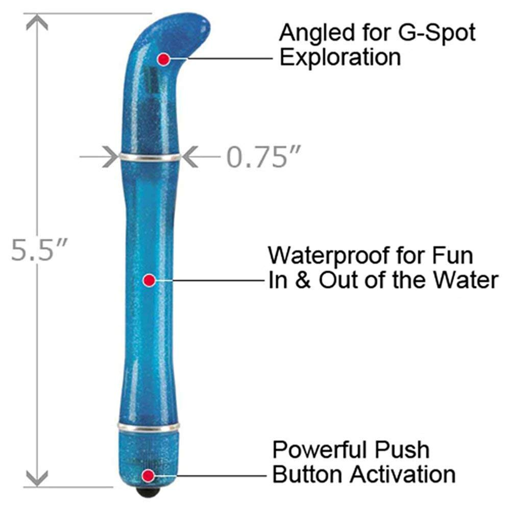 Waterproof Pixies Mini G G-Spot Vibrator (Blue)
