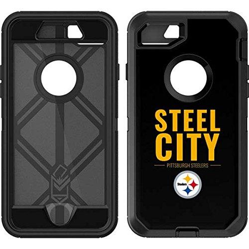 best sneakers 7a937 db0e1 Pittsburgh Steelers OtterBox Defender iPhone 7 Skin - Pittsburgh Steelers  Team Motto   NFL X Skinit Skin