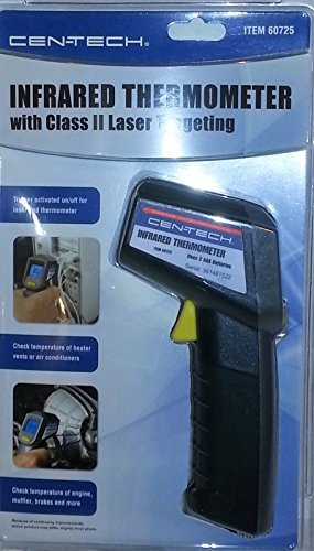 Infrared Thermometer with Class II Laser Targeting-Cen-tech by Cen-Tech