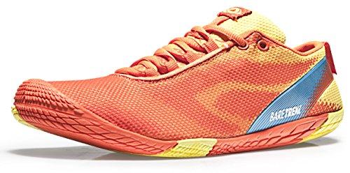 TSLA TF-BK30-RY_Men 9.5 D(M) Men's Trail Running Minimalist Barefoot Shoe BK30