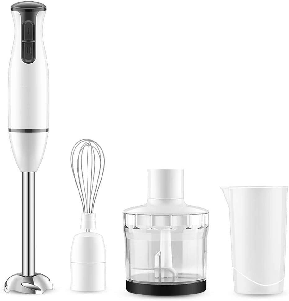 Whisks Hand Blender 450W 2nd Gear Speed Control Hand Blender Set Immersion Blender with Hand Mixer, Chopper, Whisk, Beaker Attachment for Soup Sauce Baby Food Purée and Emulsify Kitchen Whisks