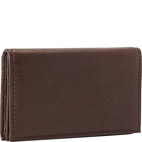 Osgoode Marley Cashmere Gusset Card Case (Espresso) - Osgoode Marley Cashmere Card