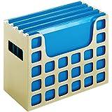 "2 x Pendaflex Decoflex Desktop File, 9 1/2"" H x 12 1/4"" W x 6"" D, Putty (23010)"