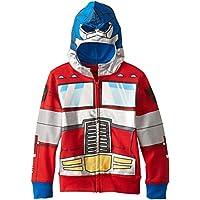 Sudadera con capucha Optimus Prime Character de Transformers Little Boys, rojos, 7