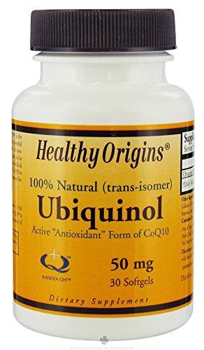 Healthy Origins Ubiquinol Soy Free/Non-GMO Gels