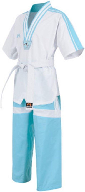 Mudoin Korea Taekwondo Cool Summer Short Sleeve Mesh Uniform for Adults MMA Martial Arts Karate Hapkido Uniforms Gym School Academy