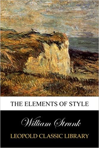 The Elements Of Style Pdf Rustfootleakerbtk