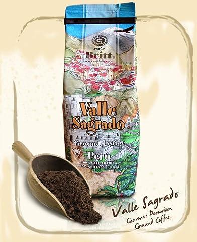 Cafe Britt Peru Valle Sagrado Ground, 8.8 Ounce (Del Valle)