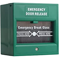 UHPPOTE Wired Security Button Hands Break Glass For Emergency Fire Alarm Exit Release