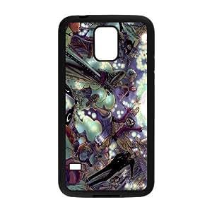 Stylish One Piece Design Samsung Galaxy S5 Cell Phone Case Funda negro 116