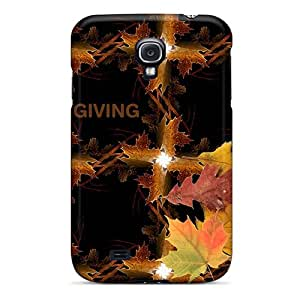 New Premium Flip Case Cover Happy Thanksgiving Skin Case For Galaxy S4