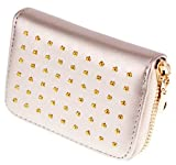 ABC STORY Women Cute Leather Small Zipper Coins Wallet Purse Card Holder For Teen Girls