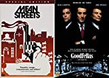 Scorsese & DeNiro American Gangster Classics: Mean Streets + Goodfellas 2 Mob Feature Films DVD Bundle