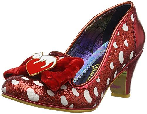 Dream Bout red Choice Femme Escarpins Lover Irregular Rouge A Fermé 85I6qw