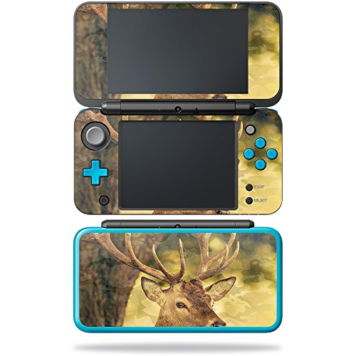 (MightySkins Skin Compatible with Nintendo New 2DS XL - Deer Camo | Protective, Durable, and Unique Vinyl Decal wrap Cover | Easy to Apply, Remove, and Change Styles | Made in The USA)