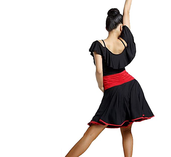 Latin dance dress Tango dress Cha Cha dress Ballroom skirt at Amazon Womens Clothing store: