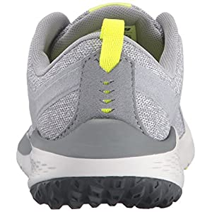 New Balance Women's 85v1 Walking Shoe, Grey/Yellow, 8.5 B US