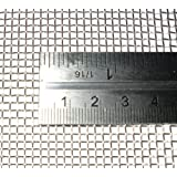 10 Mesh, Woven Wire Mesh 30cm x 30cm (Stainless Steel) (one sheet)