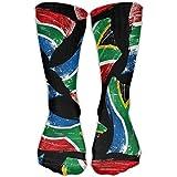 Africa Flag South Women 3D Print Super Soft Crew Socks Sneaker Athletic Socks