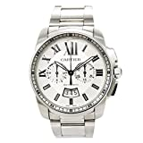 Cartier Calibre de Cartier automatic-self-wind mens Watch W7100045 (Certified Pre-owned)