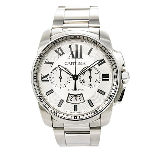 Cartier-Calibre-de-Cartier-automatic-self-wind-mens-Watch-W7100045-Certified-Pre-owned