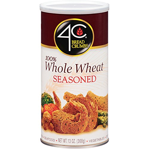 4C Whole Wheat Seasoned Bread Crumbs 13 oz. (Pack of 3)