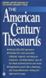 The American Century Thesaurus, Laurence Urdang, 0446601225