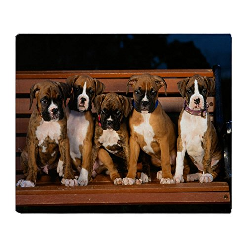 CafePress - Boxer Pups Throw Blanket - Soft Fleece Throw Blanket, 50