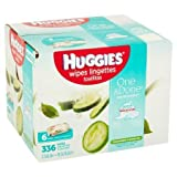 Health & Personal Care : HUGGIES One & Done Refreshing Soft Pack Baby Wipes, 336 sheets, 6 count