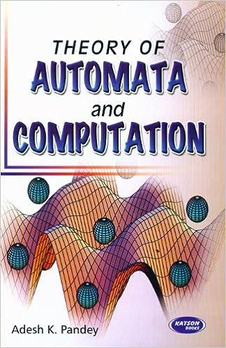 Theory of computation book by adesh k pandey pdf
