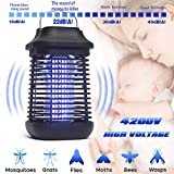 Bug Zapper,2 in 1 Mosquito Zapper for Outdoor and