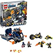 LEGO Marvel Avengers Truck Take-Down 76143 Captain America and Hawkeye Superhero Action, Cool Minifigures and