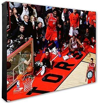 big sale cf8fd 8056e Toronto Raptors Kawhi Leonard Game 7 Buzzer Beater Shot ...