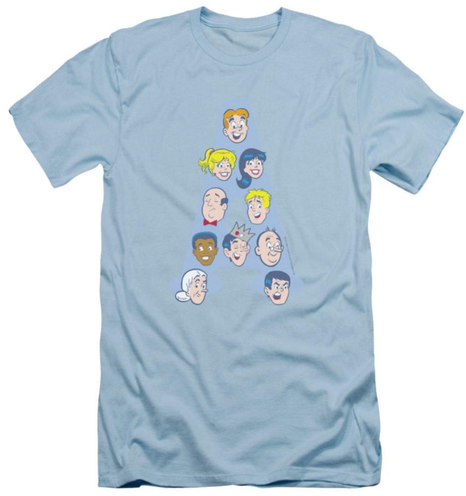 Archie Comics Character Heads Tshirt