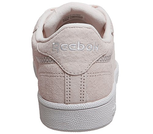 white Reebok 85 grey Nbk Club pink 38 Shoes size Trim C T4rfq4w0x1