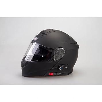 Viper RSV-171–Casco para moto con Bluetooth, panel