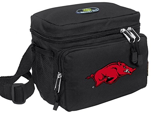 University of Arkansas Lunch Bag OFFICIAL NCAA Arkansas Razorbacks Lunchboxes by Broad Bay